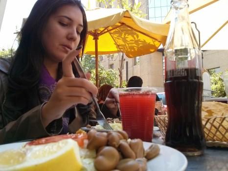 Hora do almoço