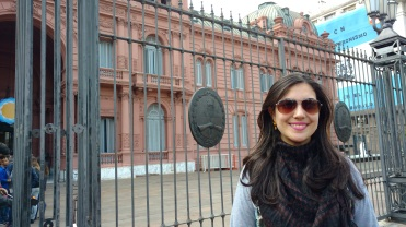 Entrada - Casa Rosada