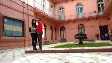 Pátio interior - Casa Rosada