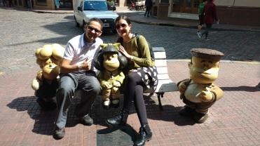 Fotinha com a Mafalda