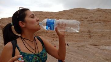 Tem que hidratar